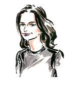 Averyl Oates | Illustration by Clym Evernden for BoF