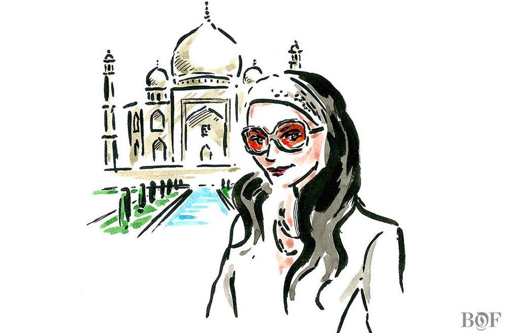 Bandana Tewari | Illustration by Clym Evernden for BoF