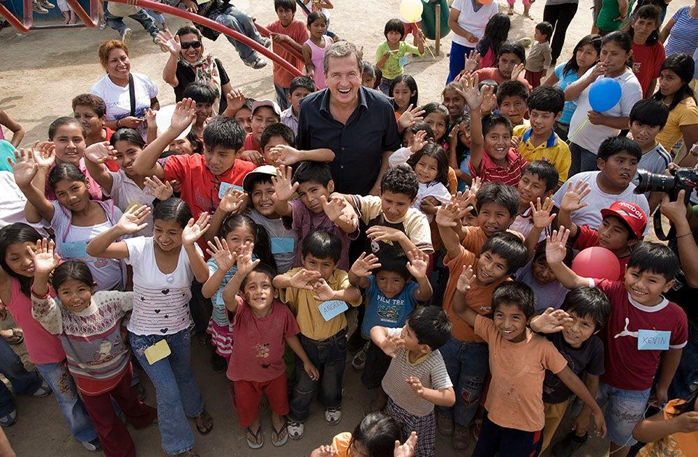 Mario Testino in Peru, 2008   Photo: Bernard Van Der Plas