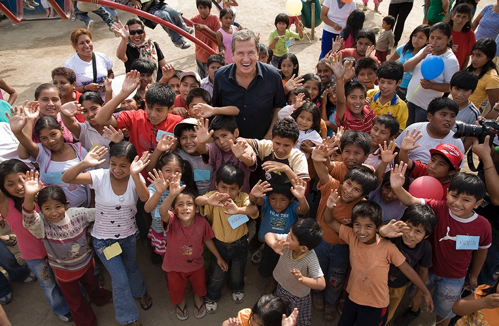 Mario Testino in Peru, 2008 | Photo: Bernard Van Der Plas