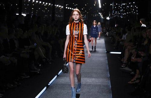 Louis Vuitton, Spring/Summer 2015 Paris Fashion Week | Source: Nowfashion.com