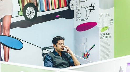 3f5de81784800 Mukesh Bansal, founder and chief executive of Myntra | Photo: Mahesh  Shantaram for BoF