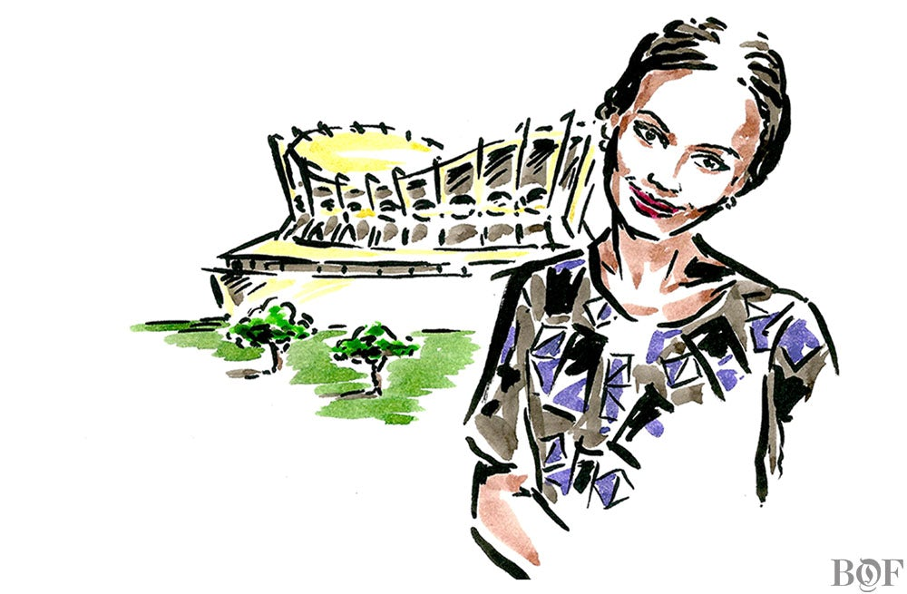 Omoyemi Akerele | Illustration by Clym Evernden for BoF