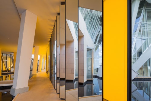 'Inside the Horizon' by Olafur Eliasson at the Louis Vuitton Foundation © Iwan Baan   Source: LVMH