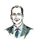 Pete Nordstrom| Illustration by Clym Evernden for BoF