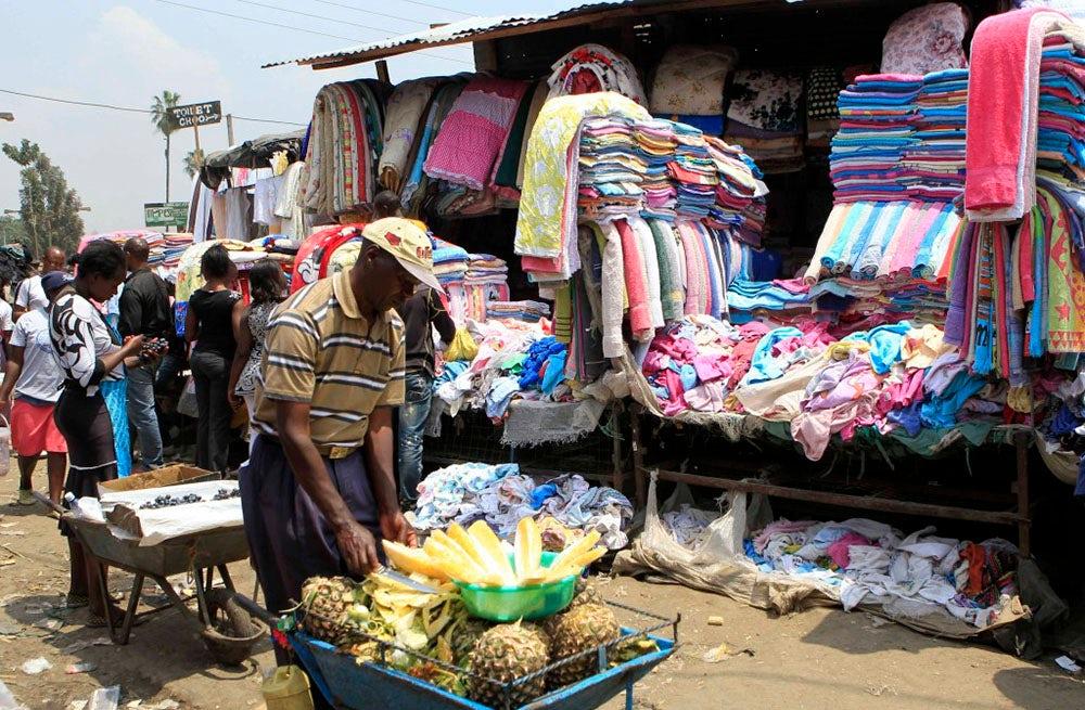 Gikomba market in Nairobi | Source: Reuters