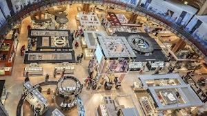 Inside Galeries Lafayette in Paris | Source: Shutterstock