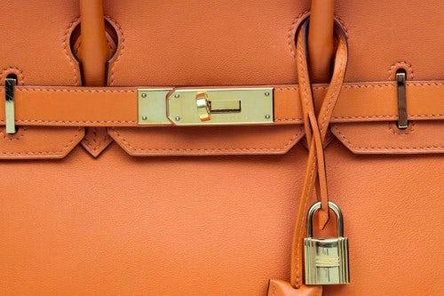 Orange Hermès Birkin   Source: Hermès
