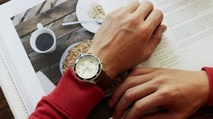 Fossil's 'Wakefield' chronograph watch | Source: Fossil
