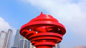 May Wind Sculpture at the May Fourth Square, Qingdao | Source: Shutterstock