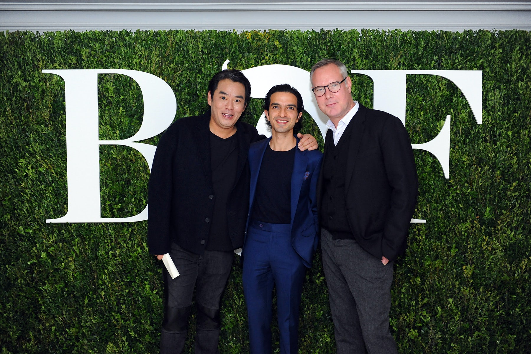 Melvin Chua, Imran Amed and Andrew Keith | Source: BoF