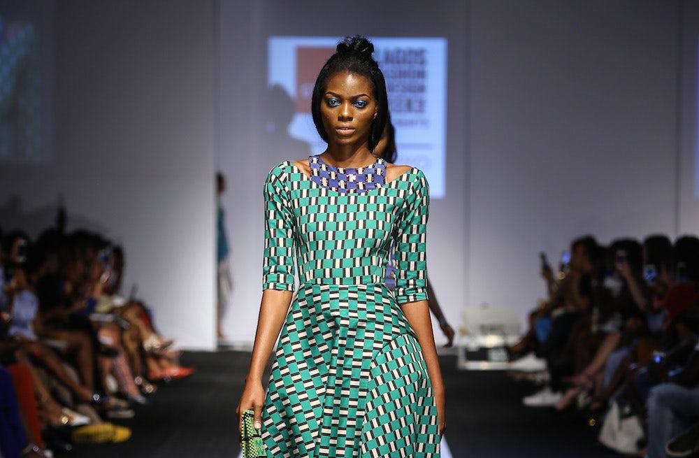 Lisa Folawiyo runway show at Lagos Fashion and Design Week | Source: Courtesy