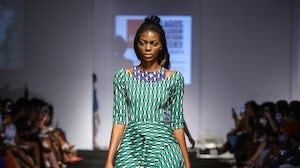 Lisa Folawiyo runway show at Lagos Fashion and Design Week | Source: Courtesy