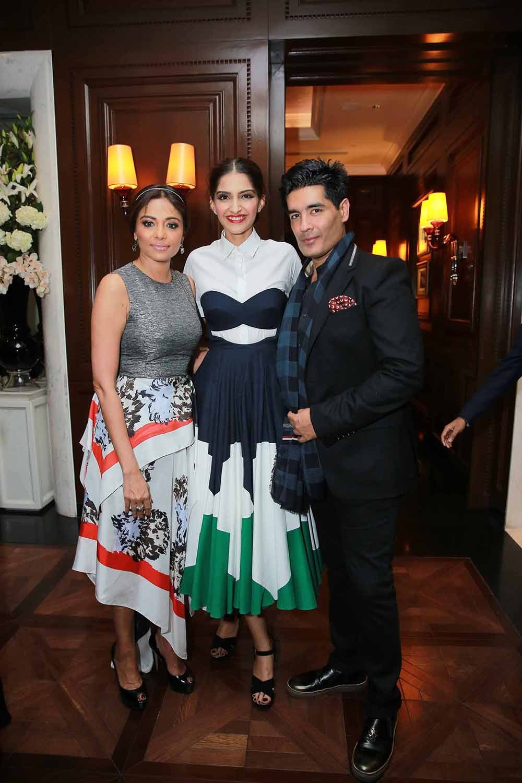 Kalyani Chawla, Sonam Kapoor and Manish Malhotra | Source: BoF