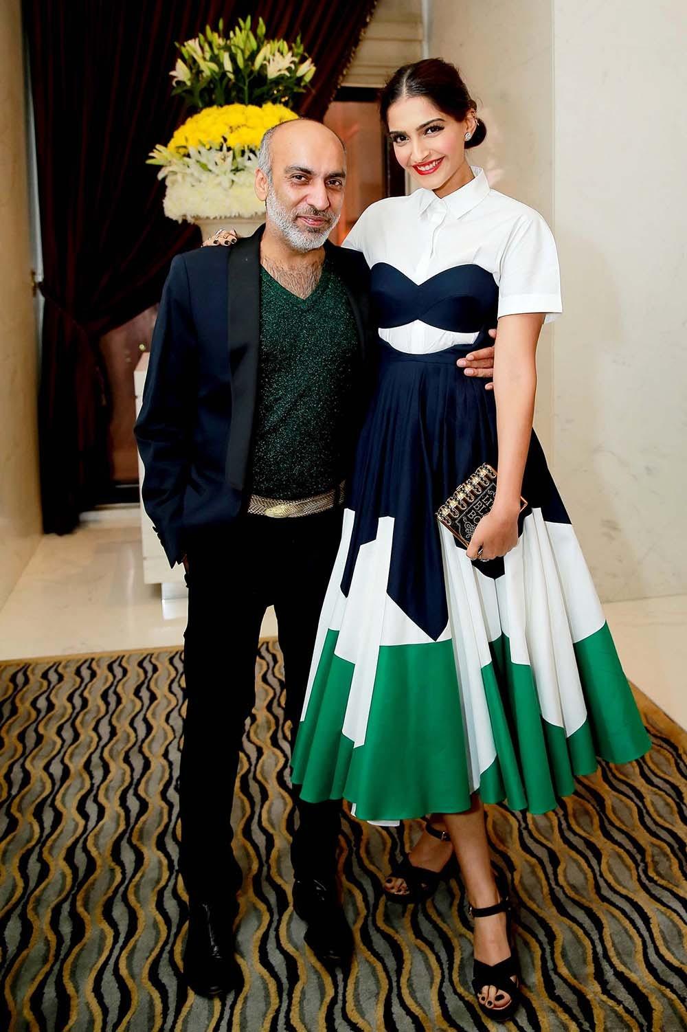 Manish Arora and Sonam Kapoor | Source: BoF
