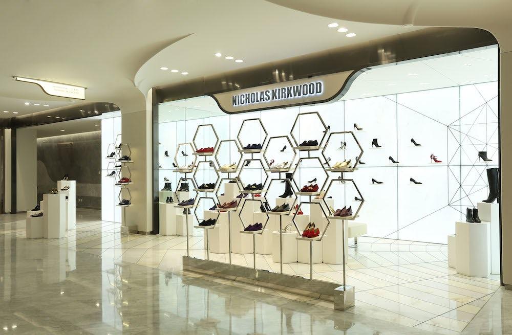 Nicholas Kirkwood's store at Shin Kong Place | Source: Nicholas Kirkwood