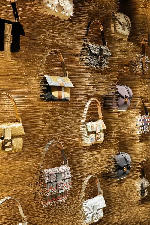 Fendi store, Avenue Montaigne, Paris | Source: Courtesy