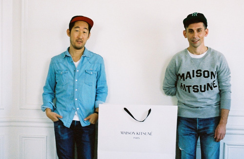 Masaya Kuroki and Gildas Loaëc of Kitsuné | Photo: Sara Nataf