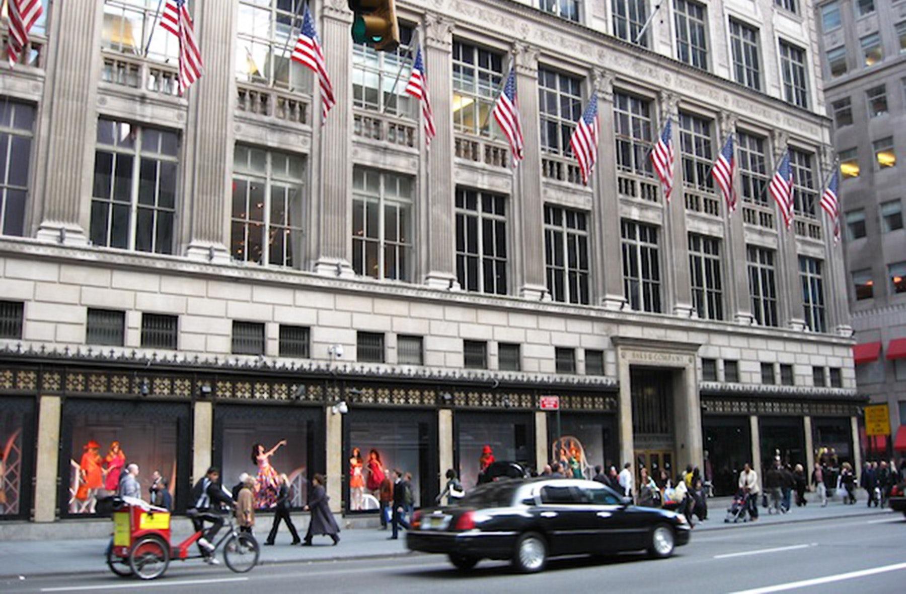 Saks Fifth Avenue, New York | Source: Saks Fifth Avenue
