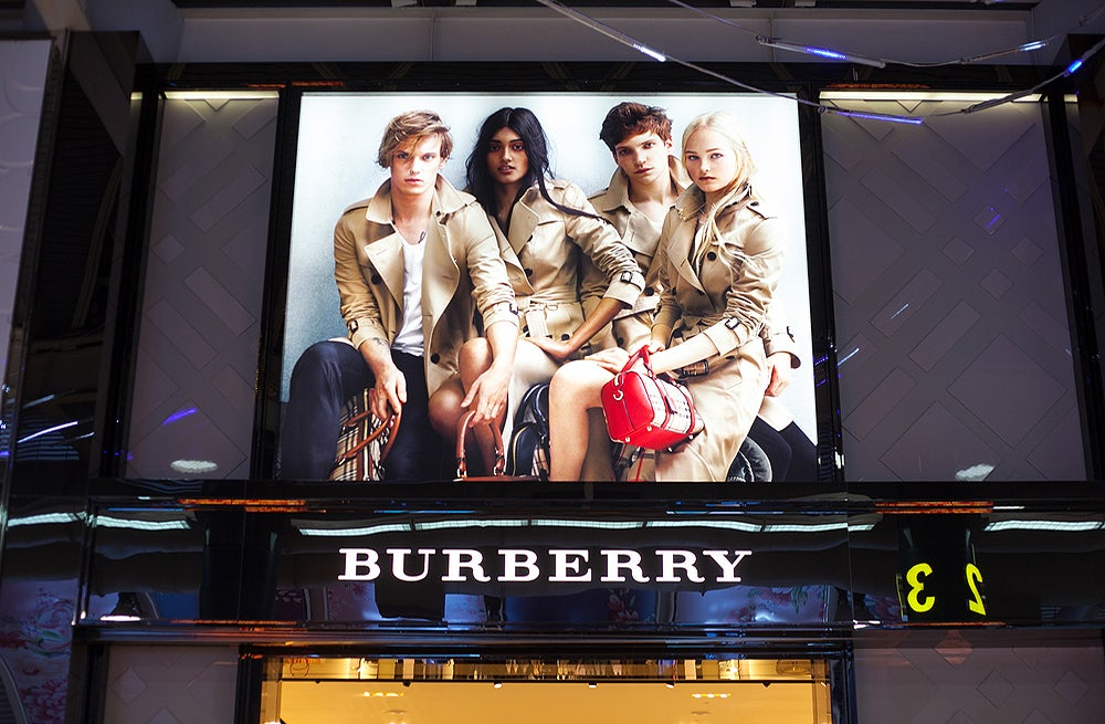 Burberry H1 Profit Drops in Difficult Luxury Environment