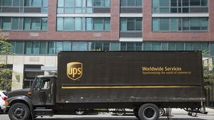UPS delivery truck   Source: Shutterstock