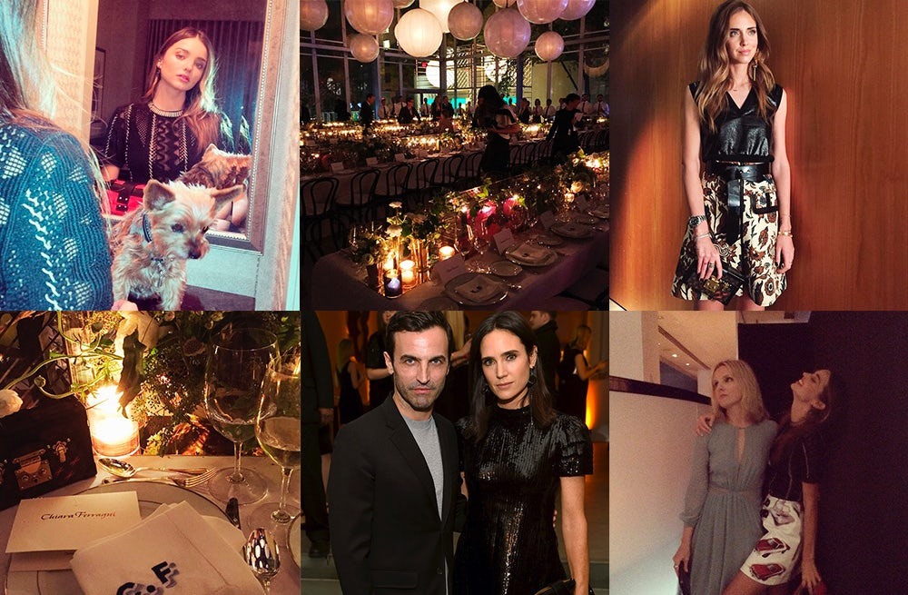 Instagrams from a Louis Vuitton party at New York's Museum of Modern Art | Source: Instagram