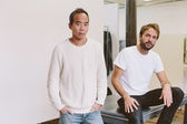 Peter Poopat and Flavio Girolami of Common Projects   Photo: Justin Chung
