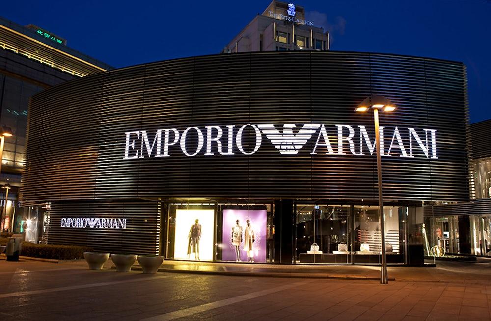Emporio Armani store | Source: Shutterstock
