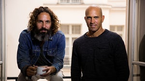 John Moore and Kelly Slater | Photo: Todd Glaser