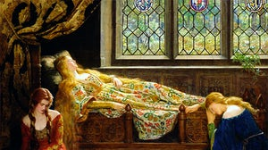 'The Sleeping Beauty' by John Maler Collier, 1921