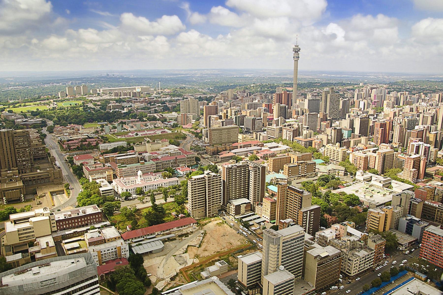 Johannesburg skyline | Source: Shutterstock