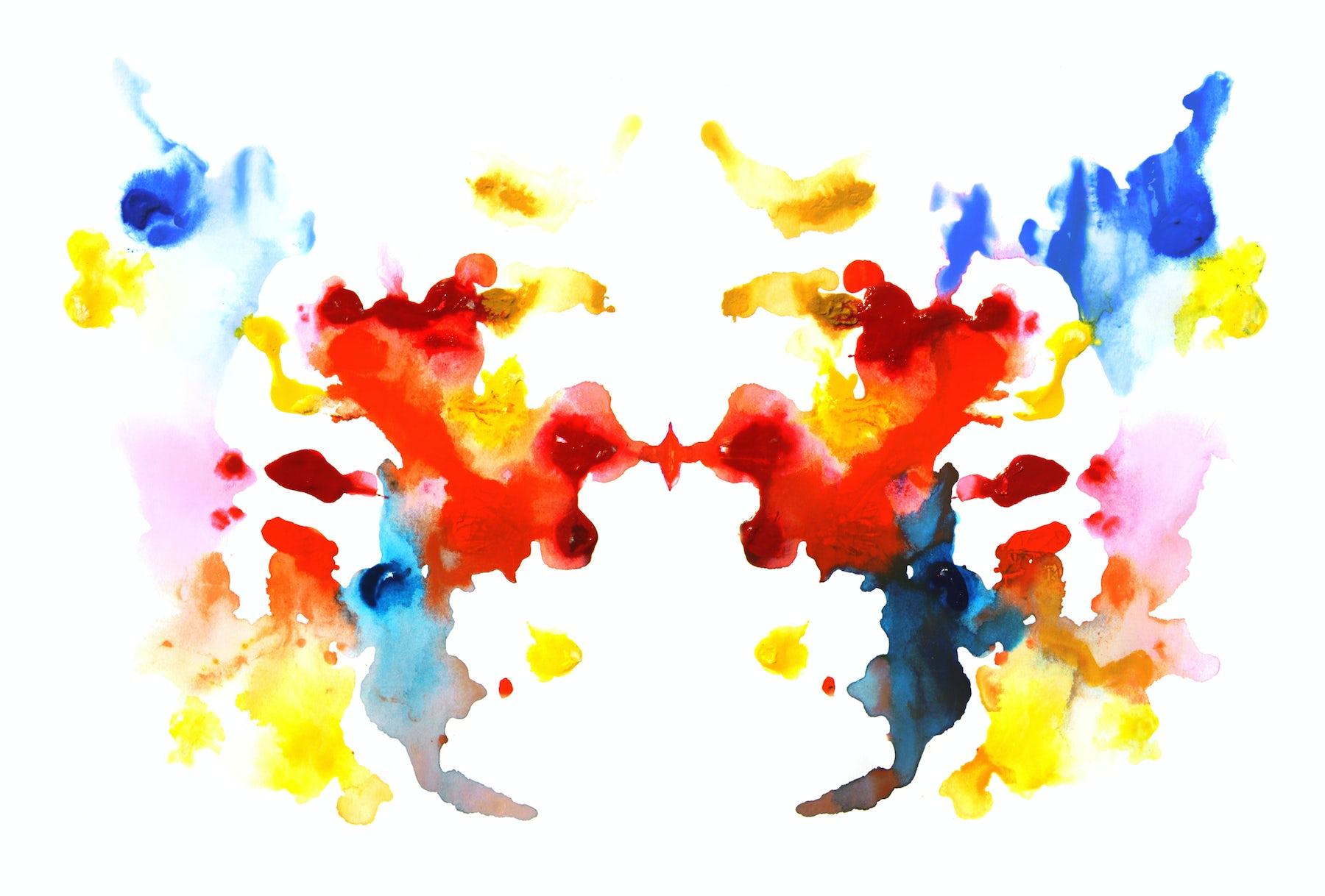 Rorschach test | Source: Shutterstock