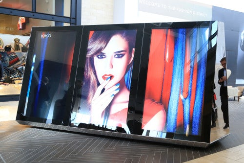 A digital storefront at Westfield's Garden State Plaza mall | Source: Courtesy
