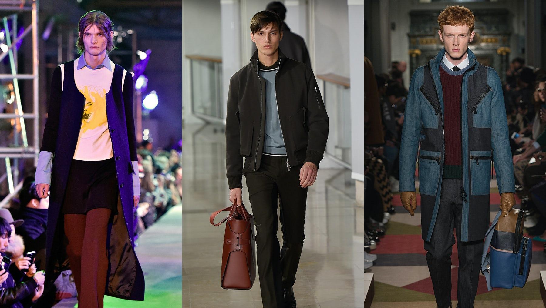 Raf Simons, Hermès and Valentino Menswear Autumn/Winter 2015 | Source: Courtesy