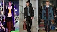 Raf Simons, Hermès and Valentino Menswear Autumn/Winter 2015   Source: Courtesy
