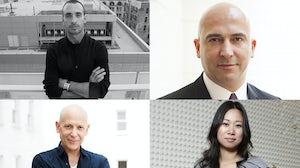 (Clockwise from top left) Rodrigo Bazan, Fabrizio Cardinali, Wen Zhou and Adrian Joffe   Source: Courtesy