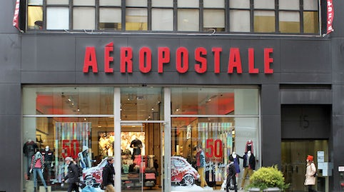 American Eagle And Aeropostale Ditch Their Logos