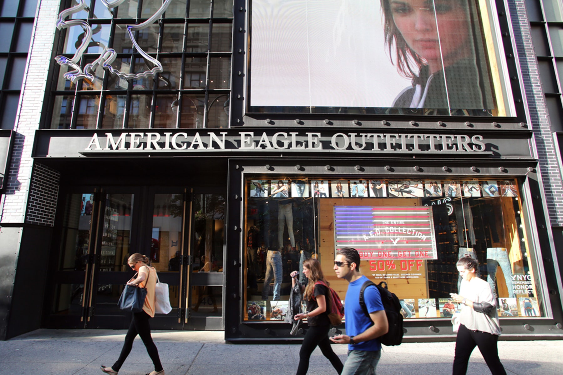 American Eagle Outfitters | Source: Shutterstock