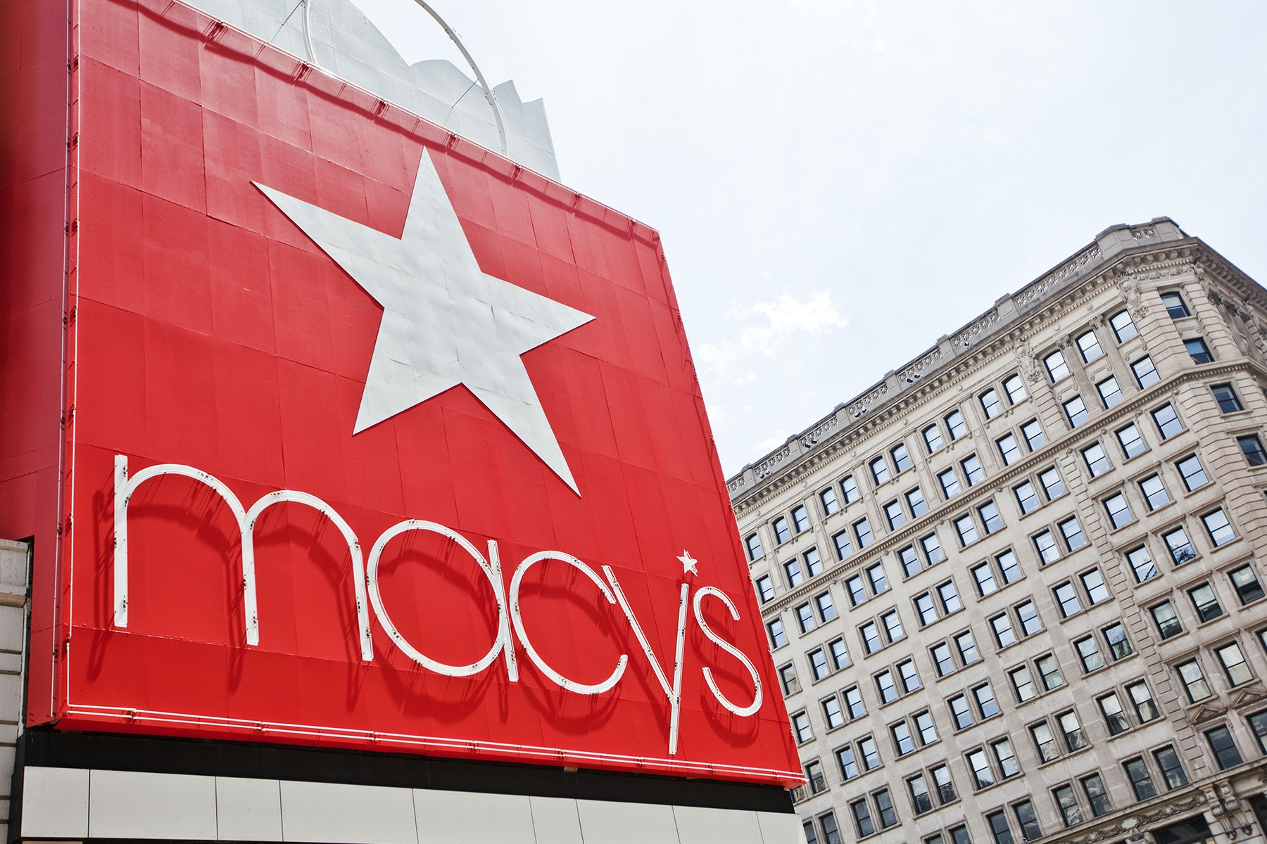 Macy's store in New York   Source: Shutterstock