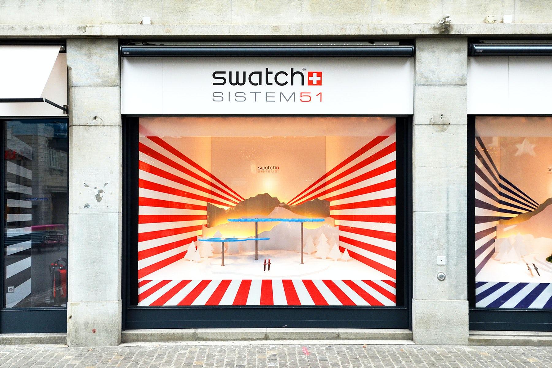 Swatch Store in Zurich   Source: Shutterstock