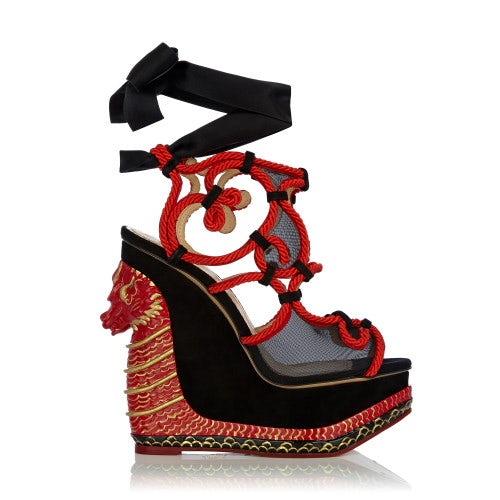 The Great Wedge of China | Source: Charlotte Olympia