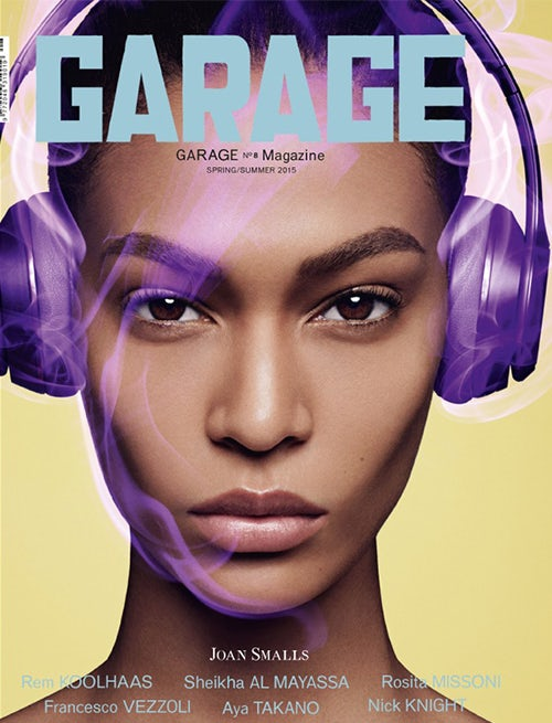 Joan Smalls' animate-able Garage cover | Source: Garage