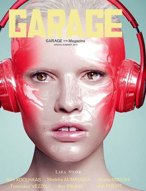 Lara Stone's animate-able Garage cover | Source: Garage