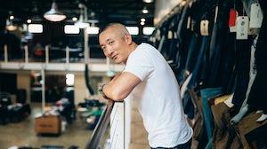 Jonathan Cheung at Levi's Eureka Innovation Lab | Source: Courtesy
