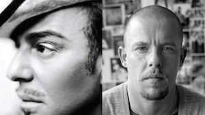 John Galliano and Alexander McQueen   Source: Courtesy