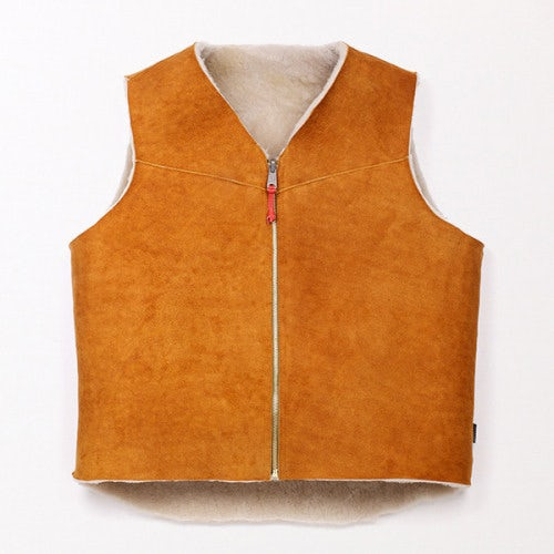 Shearling vest | Source: Best Made Company