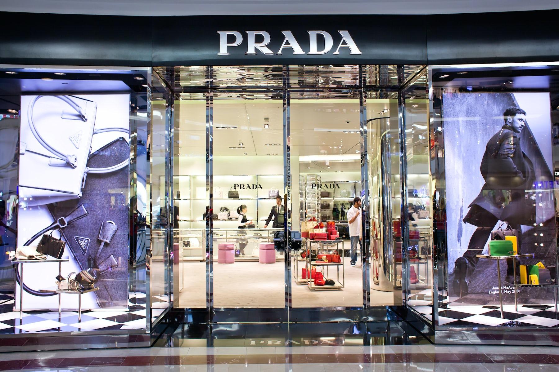Prada store   Source: Shutterstock