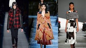 (L-R) Alexander Wang, Marc Jacobs and Proenza Schouler Autumn Winter 2015 looks | Source: Indigital.