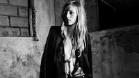 Julia Nobis for Saint Laurent | Source: Saint Laurent