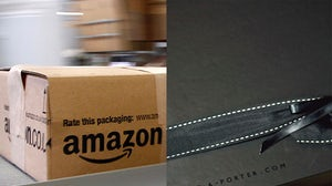 Amazon (L) and Net-a-Porter (R) | Source: Reuters, Flickr/ Maria Morri